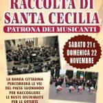 Read more about the article Raccolta di santa Cecilia 2015