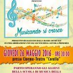 Read more about the article Saggio Corsi e Progetto Musica 2016