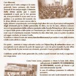 Read more about the article Raccolta di santa Cecilia 2016
