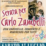 Read more about the article Serata per Carlo Zambelli