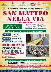 Read more about the article San Matteo 2019