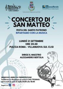 Concerto di San Matteo 2020