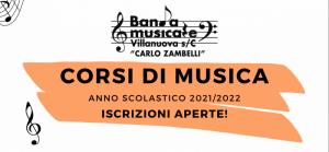 Read more about the article CORSI DI MUSICA A.S. 2021/2022
