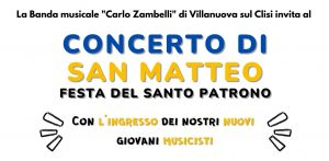Read more about the article CONCERTO DI SAN MATTEO 2021